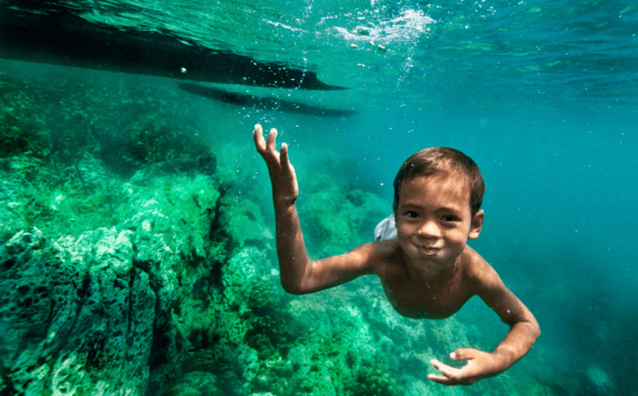 This Tribe's Children Can See Like Dolphins and Swim Underwater Like Mermaids