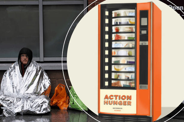 Can This Vending Machine Help the Homeless Survive Winter?