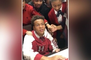 Boy's Harvard Acceptance Video Went Viral for All the Right Reasons