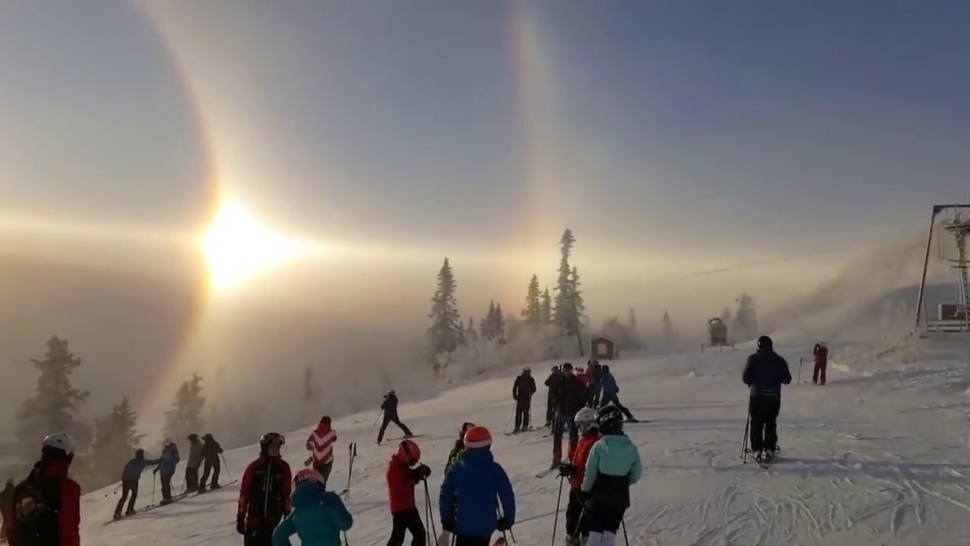 (Video) Majestic Solar Phenomenon Just Appeared in Sweden