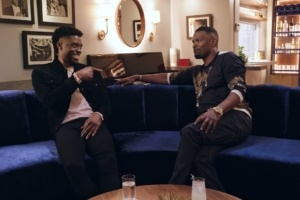 Jamie Foxx And Chadwick Boseman Talk Favorite Characters And 'Black Panther' Sequel