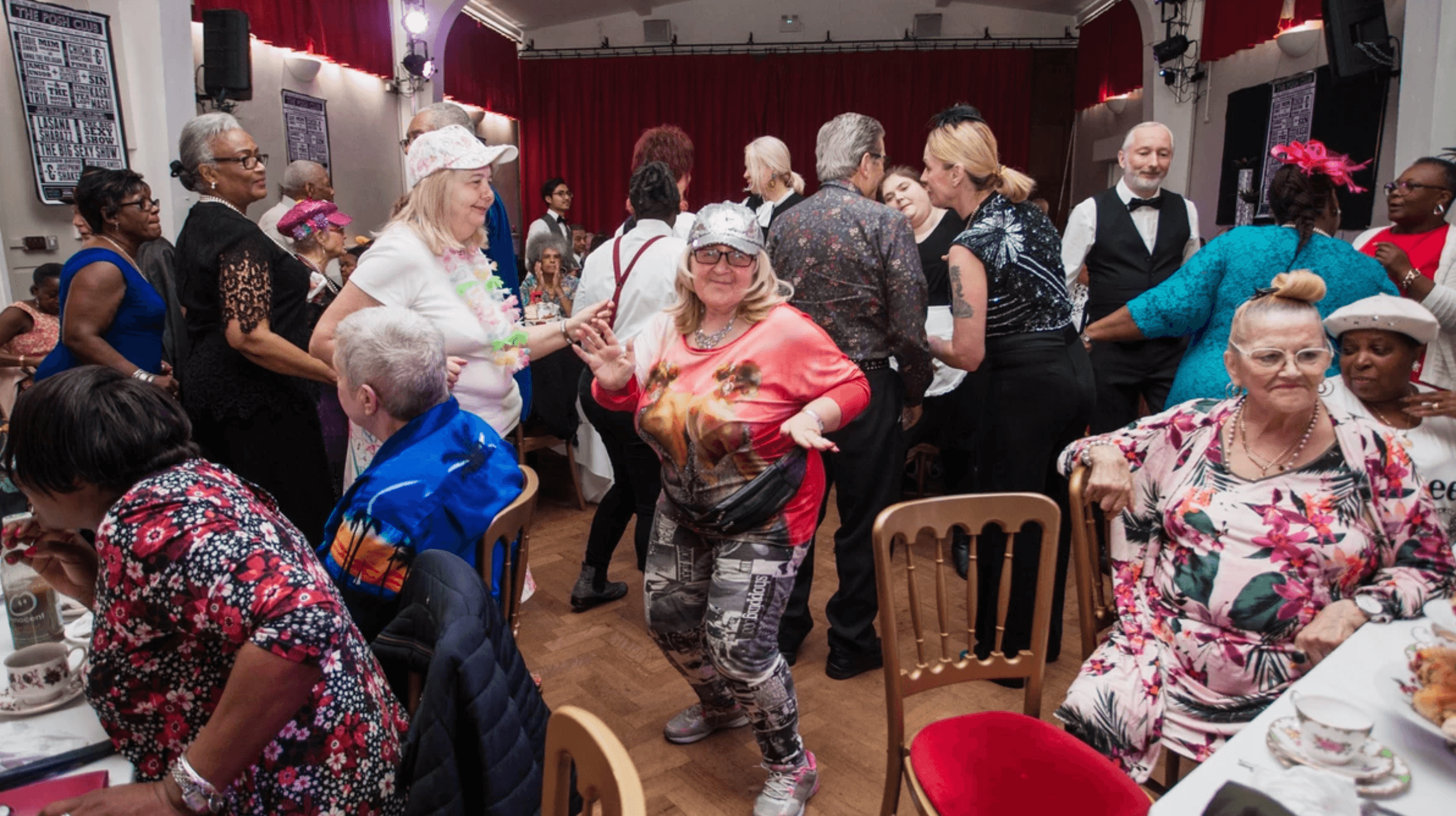 Elderly Club Skips Bingo for Tea Party Raves to Fight Loneliness