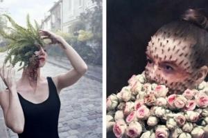 These Half Human, Half Plant Portraits Look so Real it's Disturbing